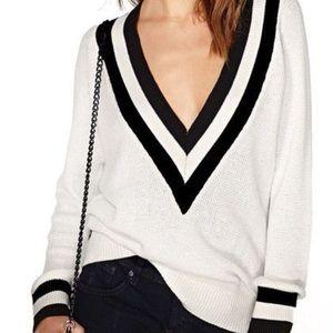 Nasty Gal Varsity Sweater -SMALL